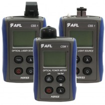 Rent AFL Noyes CKSM-2 SM MM Fiber Optic Loss Test Set