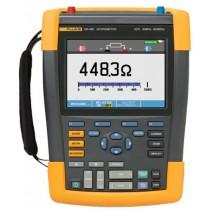 Rent Fluke 190-062 Scopemeter 60MHz 2 Channel 625 MS/s Handheld Oscilloscope