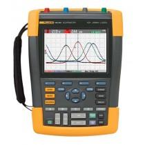Rent Fluke 190-202 ScopeMeter 200MHz 2CH 2.5GS/s Handheld Oscilloscope